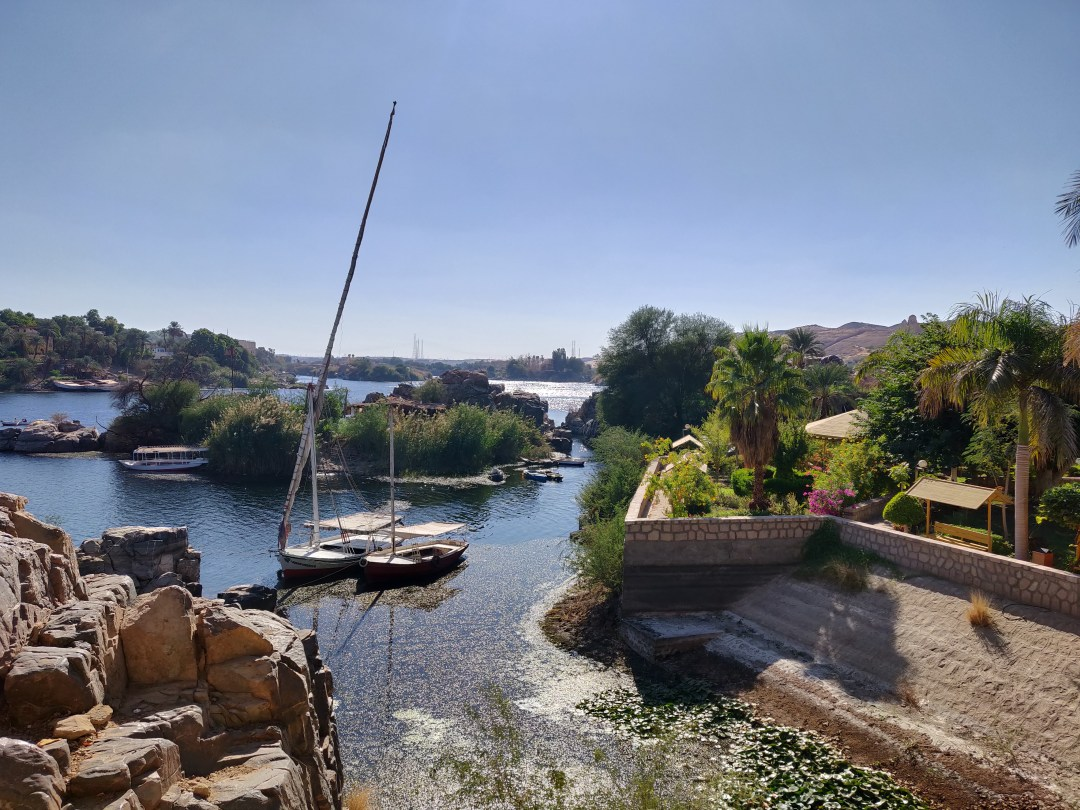 Views from the Aswan Botanic Garden