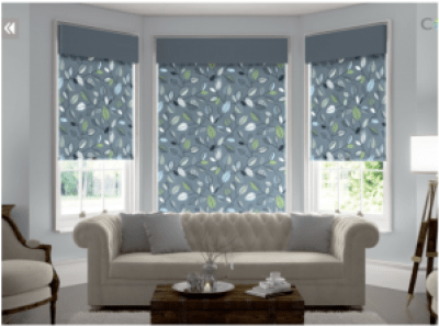 The Color Lux Visualization Tool Roller Shades with Valance