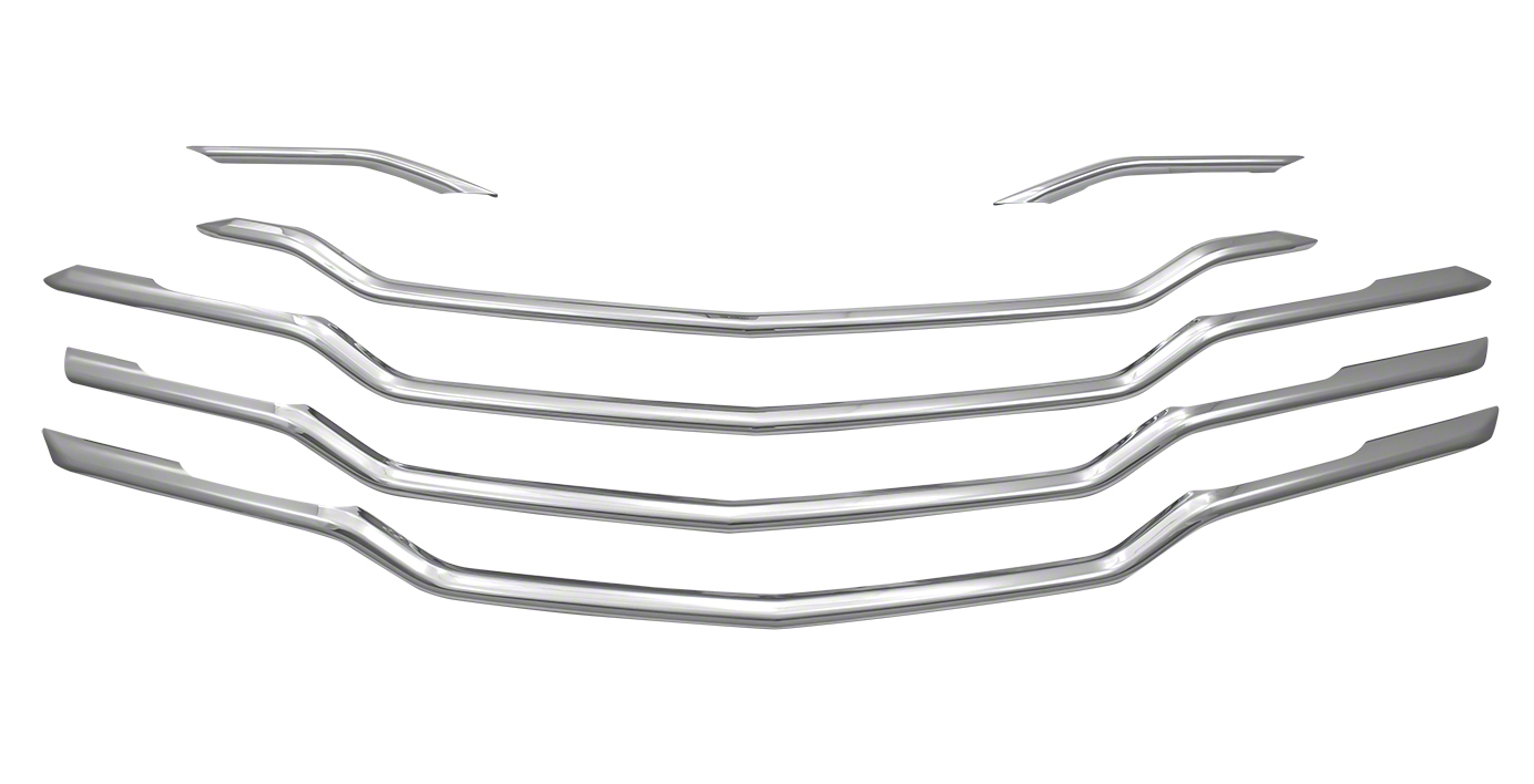 2019-2020 Chevy Cruze Chrome Grille Insert Overlay Trim