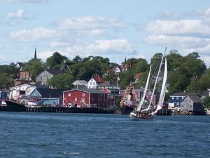 Lunenburg Town and Harbour