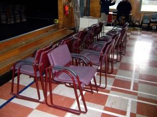 Surplus chairs from Dalhousie U