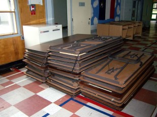 Surplus tables from Dal