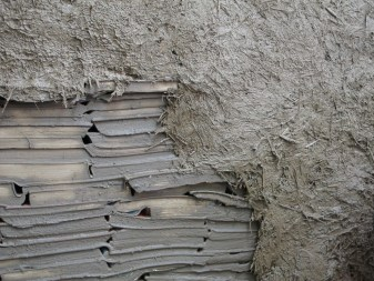Books were first covered with a fine clay slip