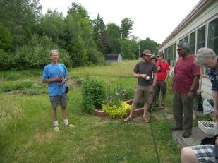 At the Blockhouse School on July 1
