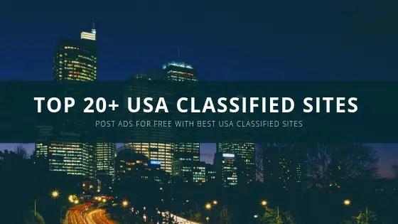 Top 20+ USA Classified Sites List 2019-20 – Thebloggergeeks