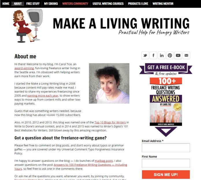 make-a-living-writing