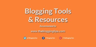 Recommended Blogging Tools & Blogging Resources