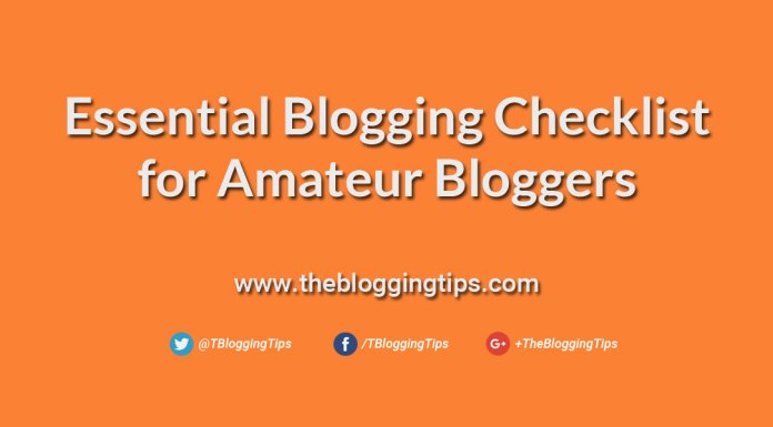 Essential-Blogging-Checklist-for-Amateur-Bloggers