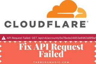 Cloudflare API Request Failed