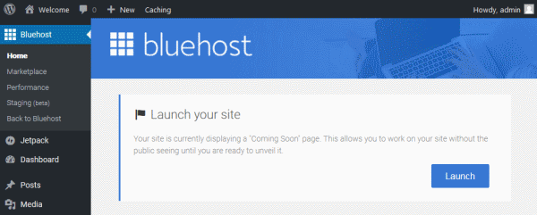 launch blog - Beginners Guide- Setting up a Blog Using Bluehost Hosting
