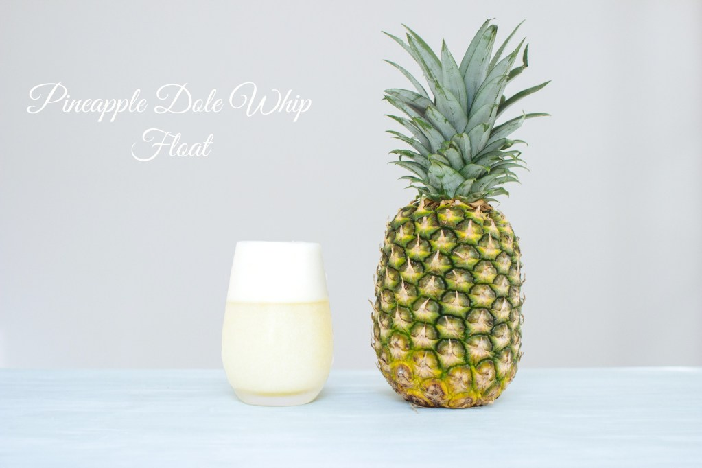 Pineapple Dole Whip Float