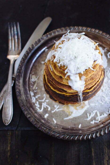 Pumpkin & Coconut Pancakes