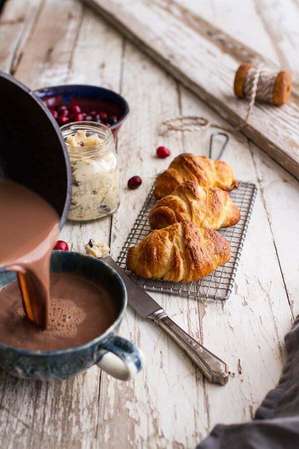 Flaky Homemade Croissants via Half Baked Harvest