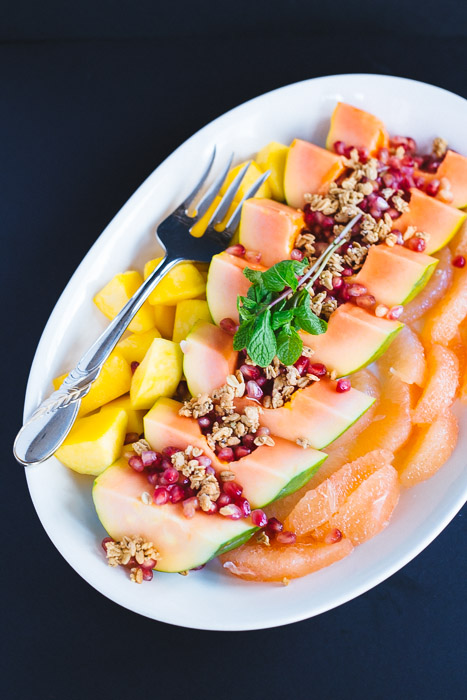 Mixed Fruit and Resolutions