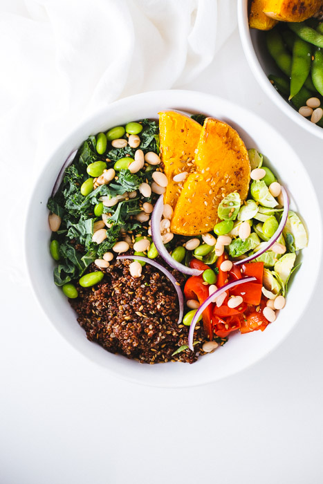 Rainbow Veggie Bowl