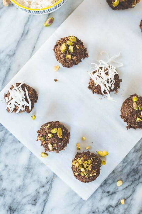 Chocolate & Pistachio Power Bites