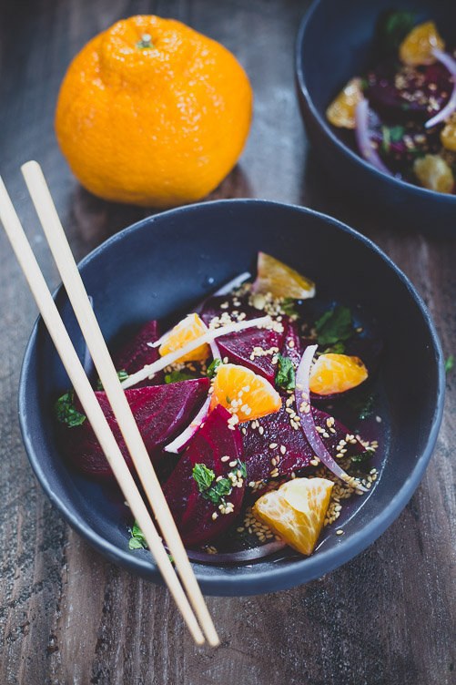 Simple Beet & Orange Salad