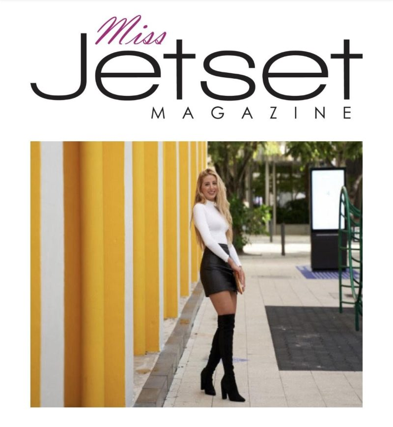 Competing for Miss Jetset Magazine 2021
