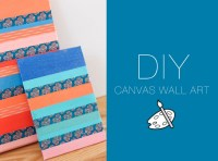 diy-canvas-wall-art | The Blondielocks | Life + Style