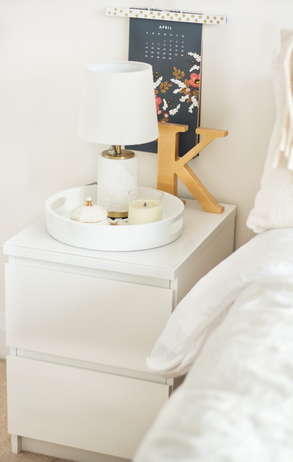Ikea Malm End Table Diy The Blondielocks Life Style