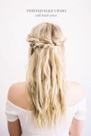 diy modern-boho wedding hairstyles