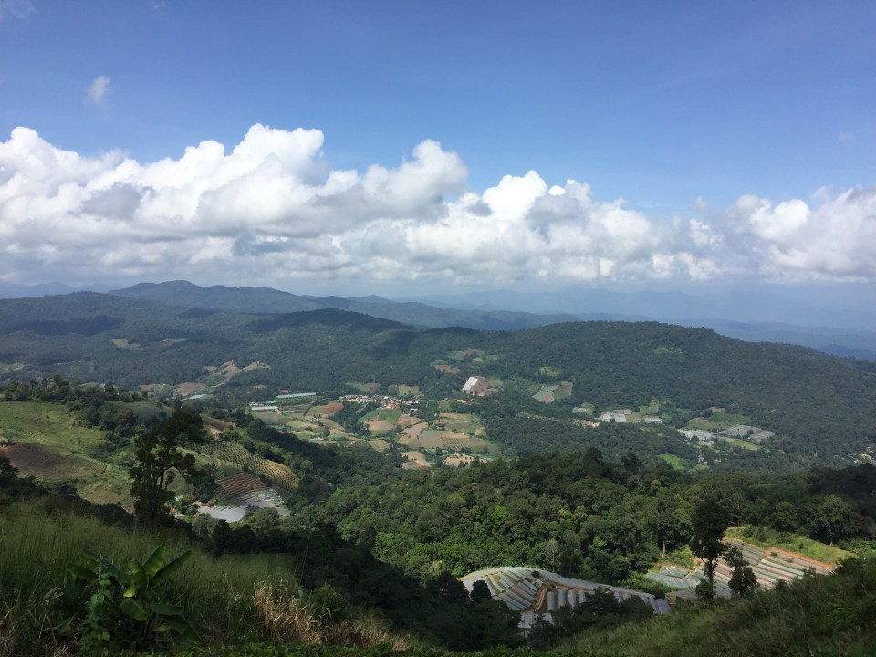 The views from the Nong Hoi Royal Project