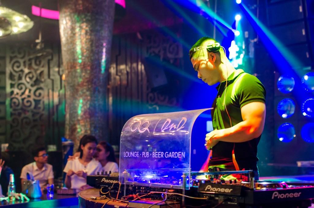 DJ at OQ Bar in Da Nang