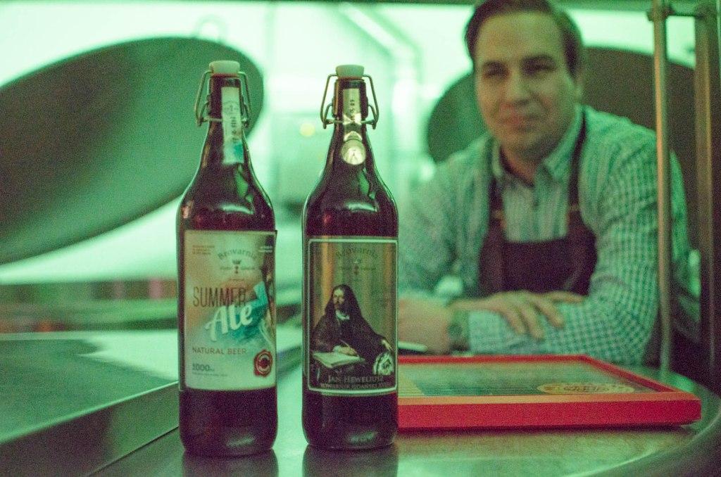 Brovarnia Gdansk special edition beer bottles
