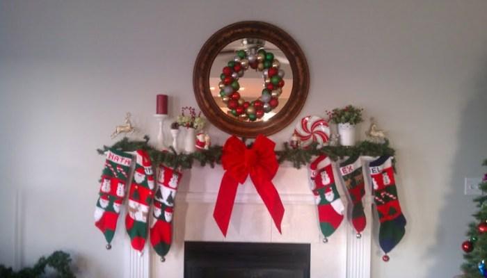 My Christmas Mantel 2012
