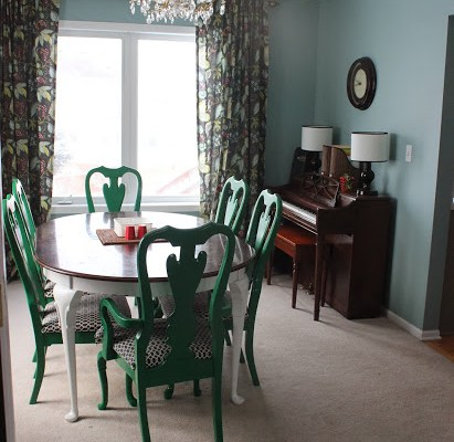 Making over the Dining Room