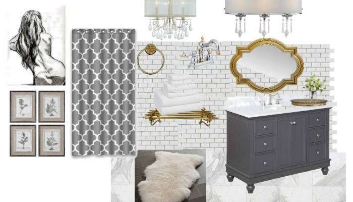 ORC Linkup Master Bathroom week 1