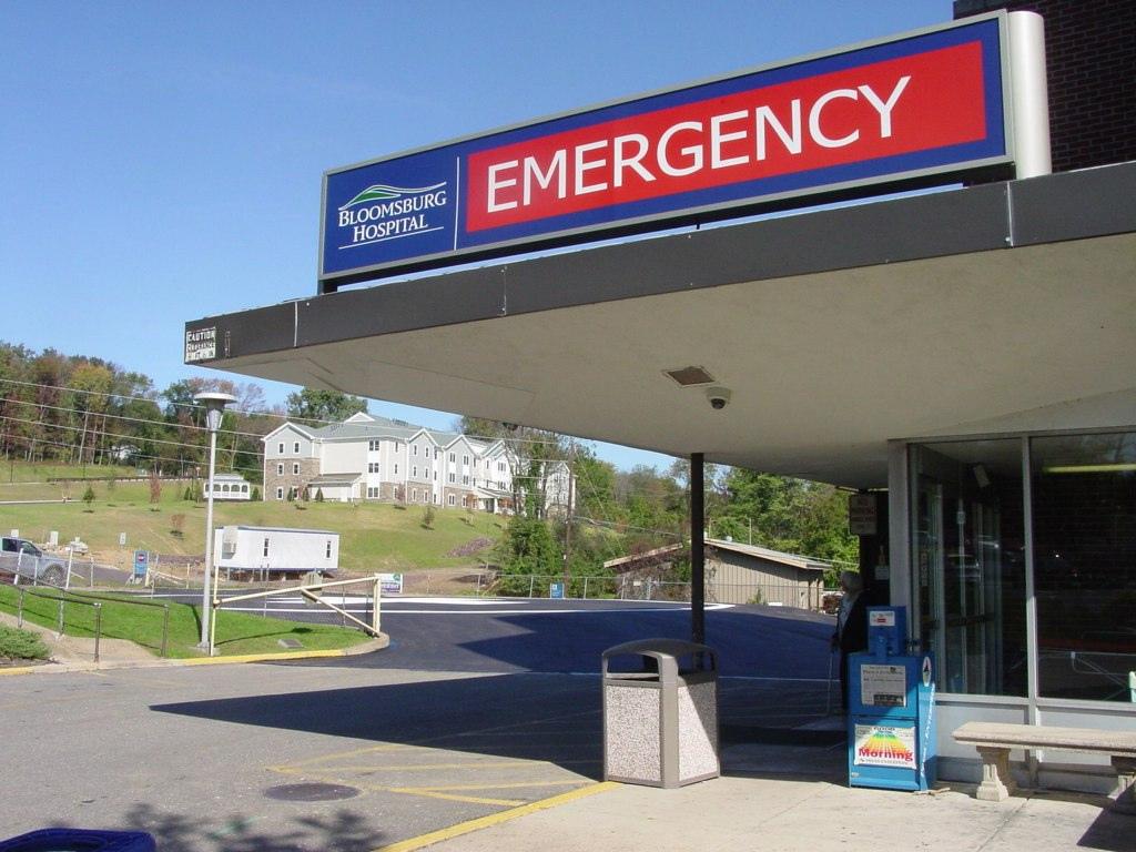 Bloomsburg Pa Map Hospital