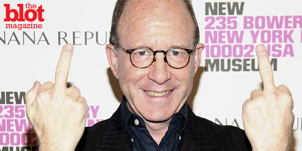 If art is meant to provoke a response, why did infamous art critic Jerry Saltz get banned from Facebook? Is there a line between nude images vs. naked? (observer.com photo)