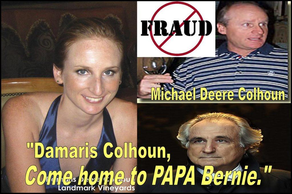 Damaris Colhoun, Michael Deere Colhoun Implicated in Multiple Frauds