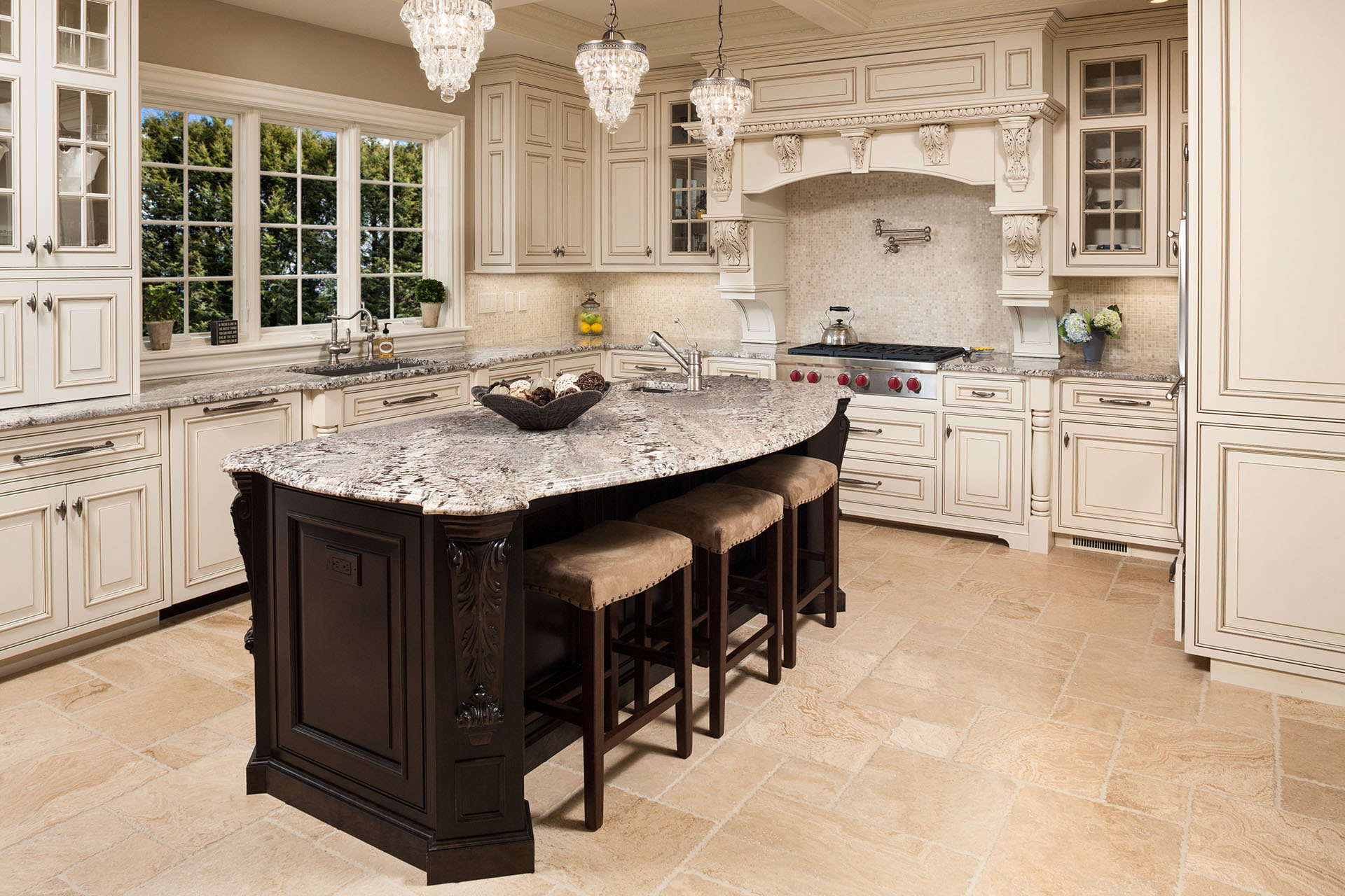 custom kitchen island cabinets design stone inc video and image gallery proview
