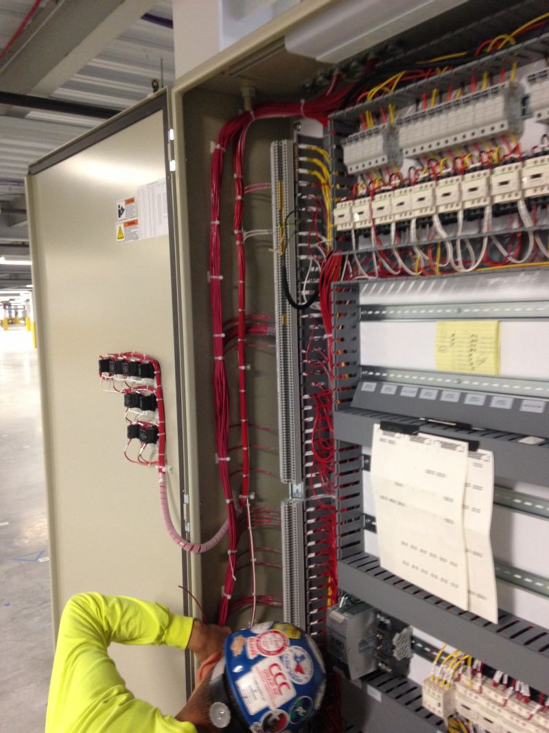 hight resolution of control cabinet wiring