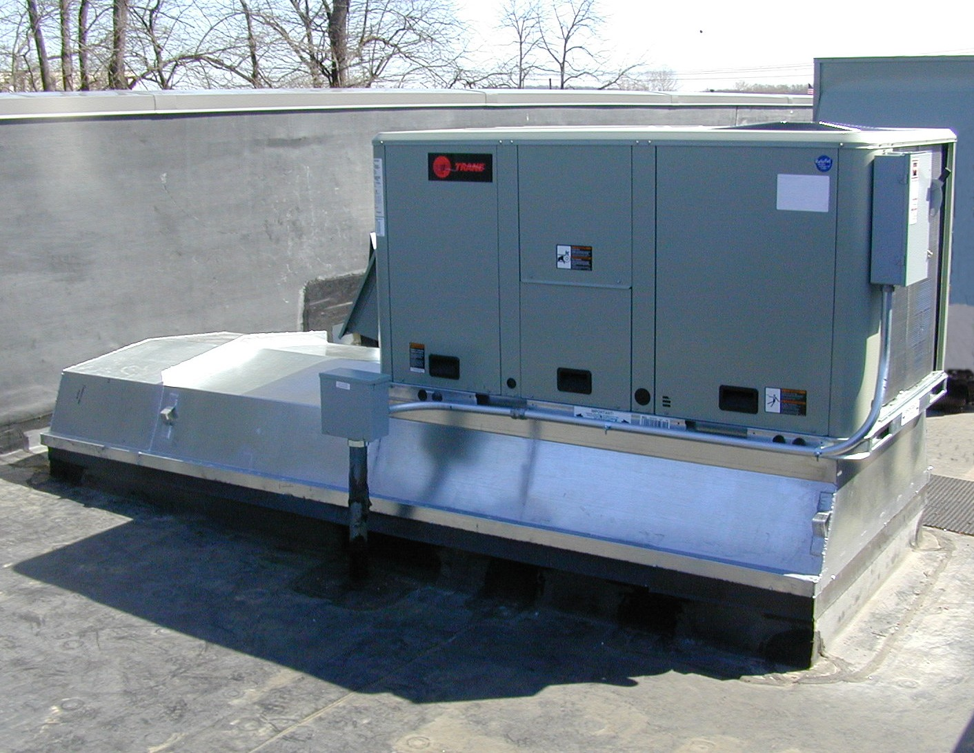 trane el paso vauxhall zafira fuse box diagram 2005 superior air systems inc 5 ton curb adapter image proview
