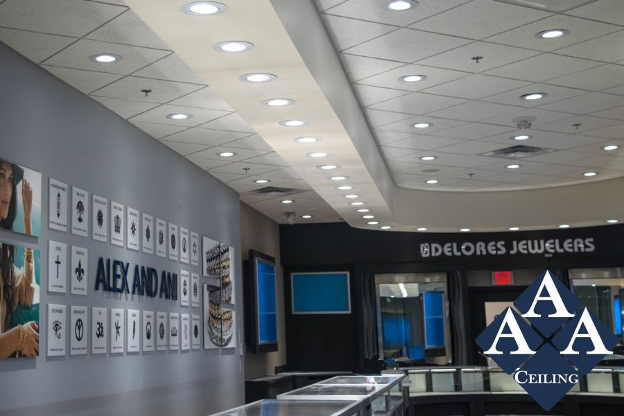 aaa ceiling retail store images proview