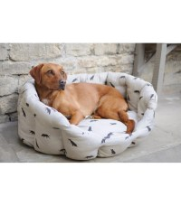 Large Dog Bed - Labrador Design | The Blue Door