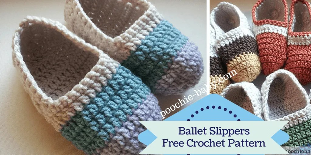 Top 10 Free Crochet Slippers Patterns