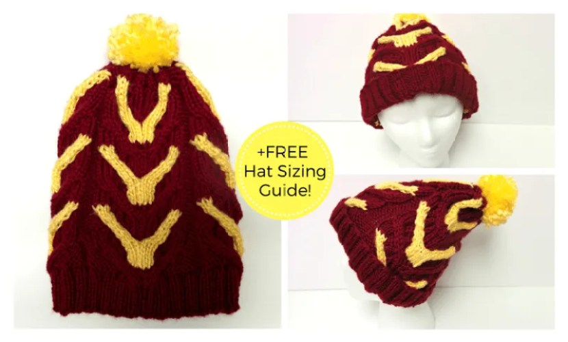 Harry potter beanie: The marauder
