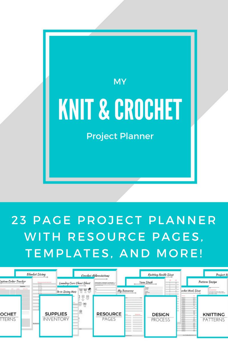 crocheting planner