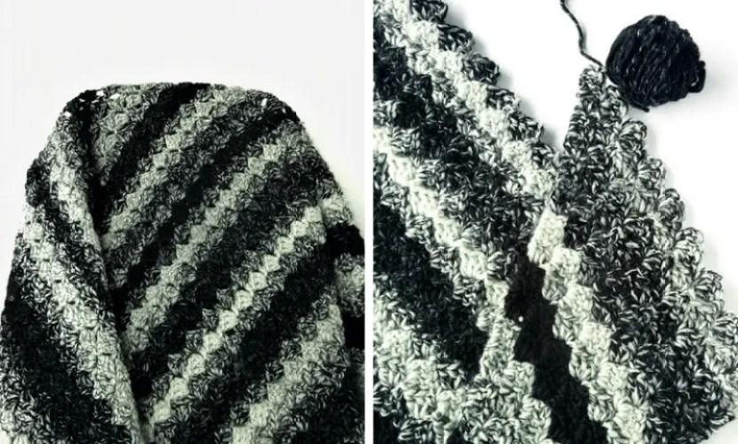 Rainy Days C2C blanket pattern