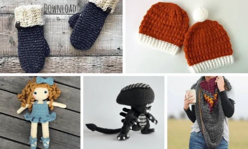 10 QUICK Crochet Gifts Ideas + Free Printable Tags!