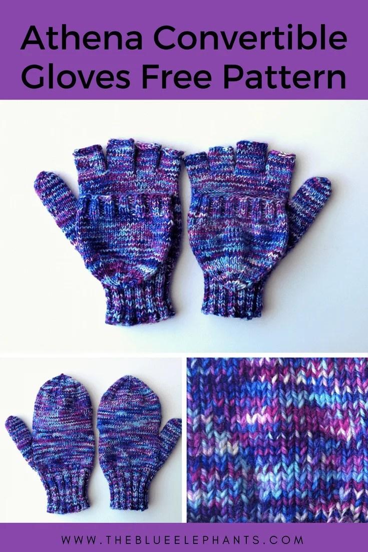 Athena Free Knitting Pattern For Fingerless Gloves