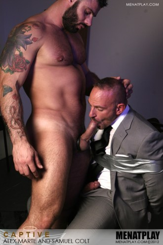 Captive starring Alex Marte and Samuel Colt