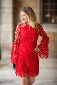 Class, Elegance and a Lace Red Dress... - The Blue ...