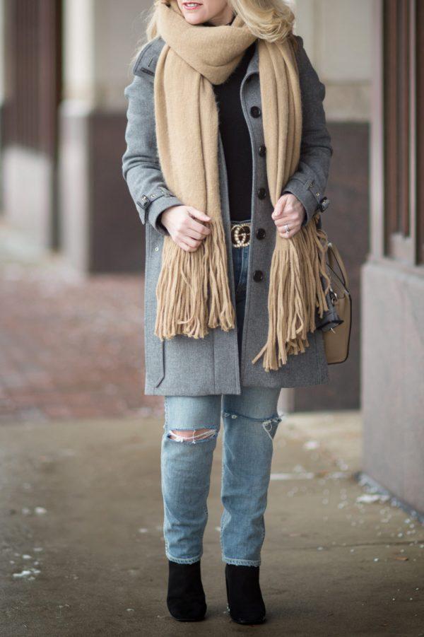 Burberry Gibbsmore Coat Fashion Blue Hydrangeas
