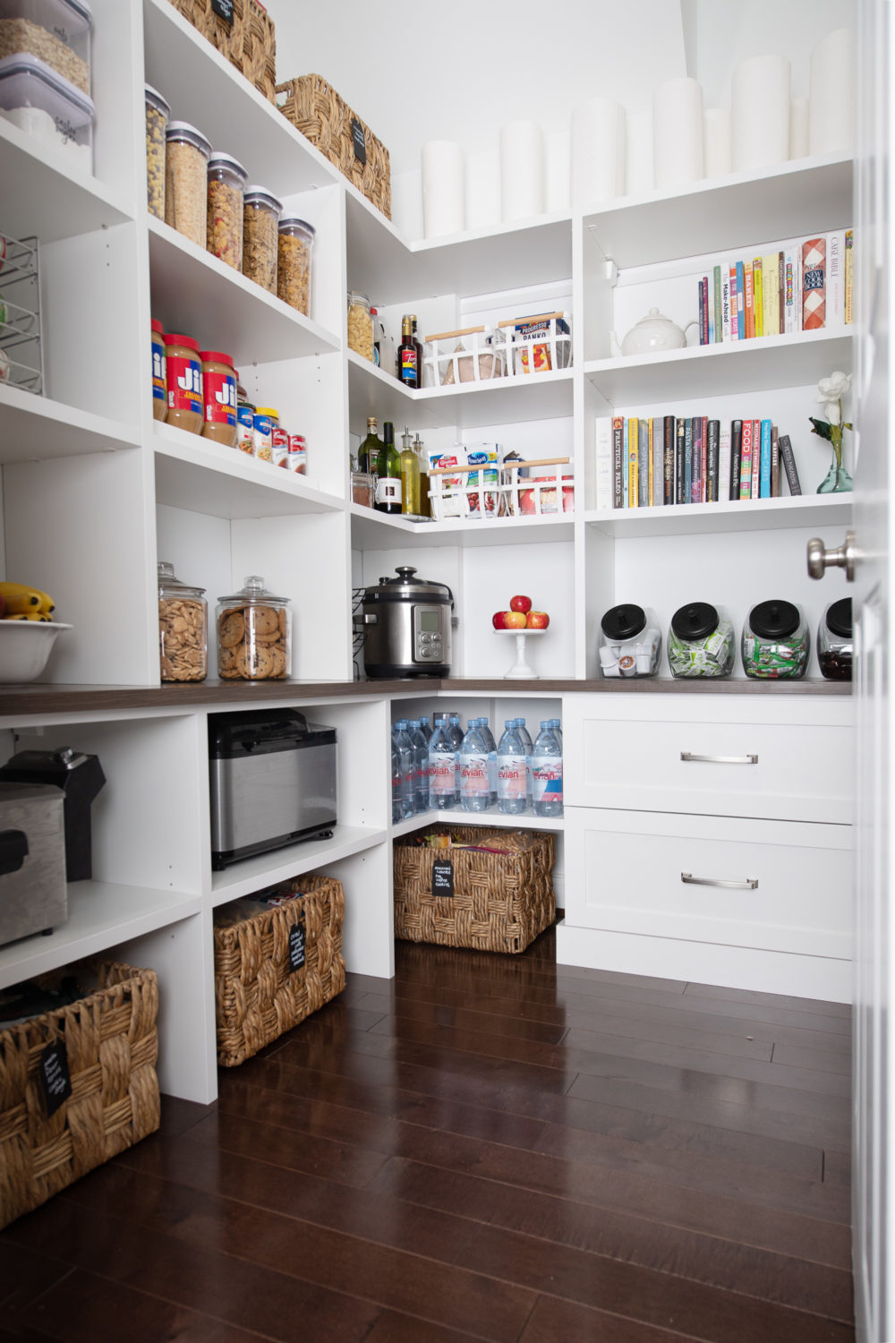 Pantry Makeover With California Closets The Blue