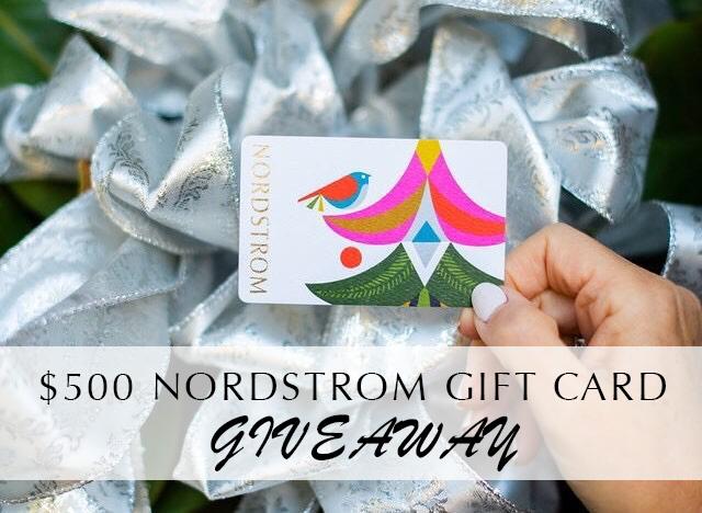 Nordstrom gift card giveaway   Nordstrom Giveaway